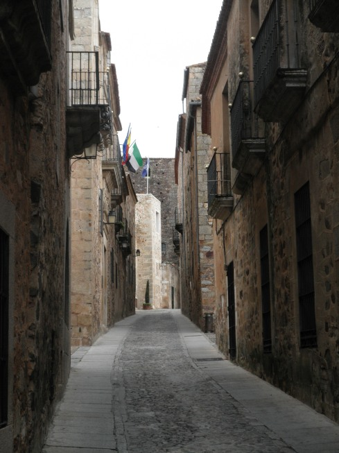 caceres calles