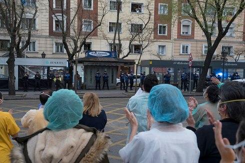 La OMS ha alabado el trabajo hecho en España por los que están en primer línea luchando contra la pandemia (Nemo - es.wikipedia.org)